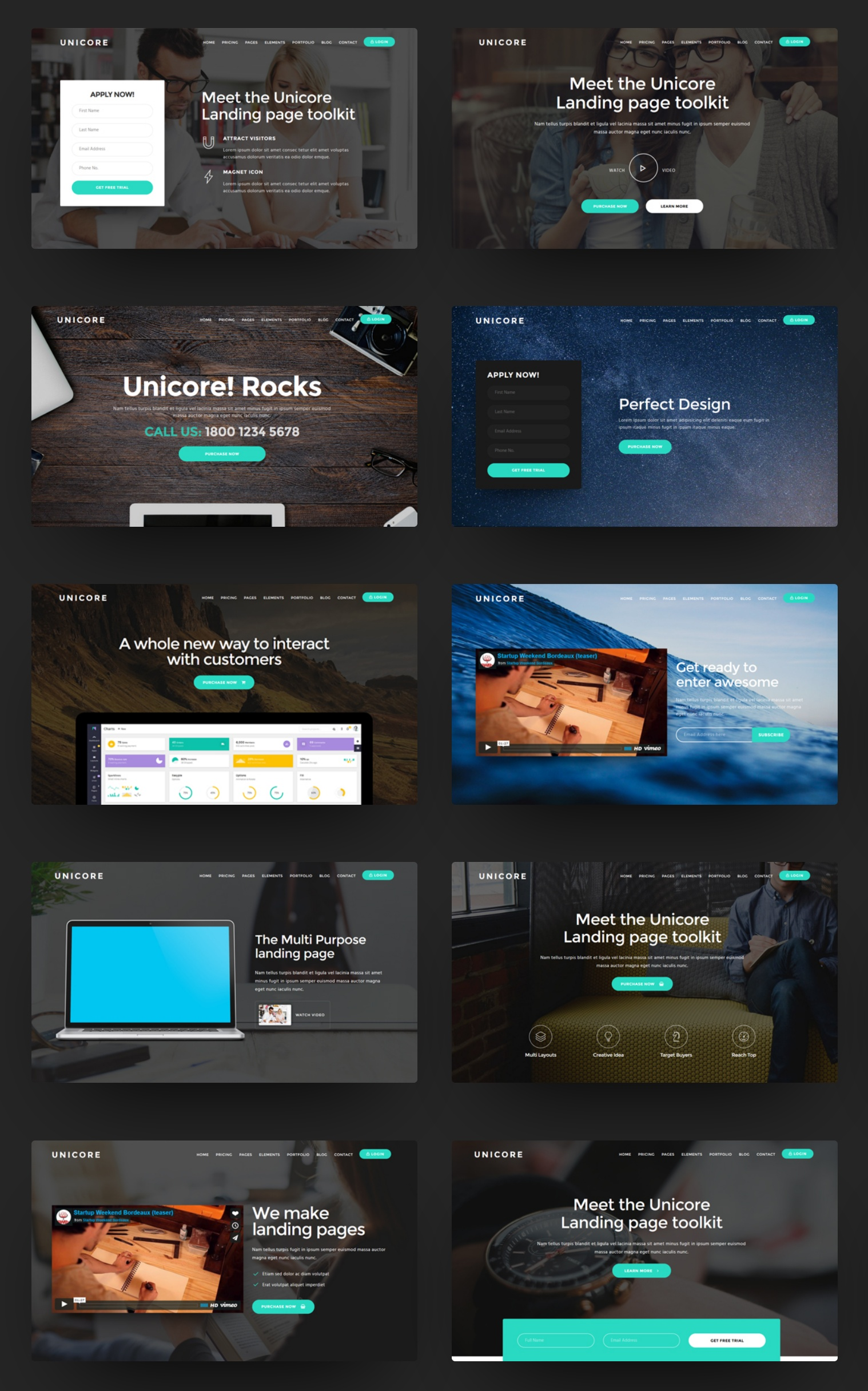 Premium Bootstrap Flat Theme Download