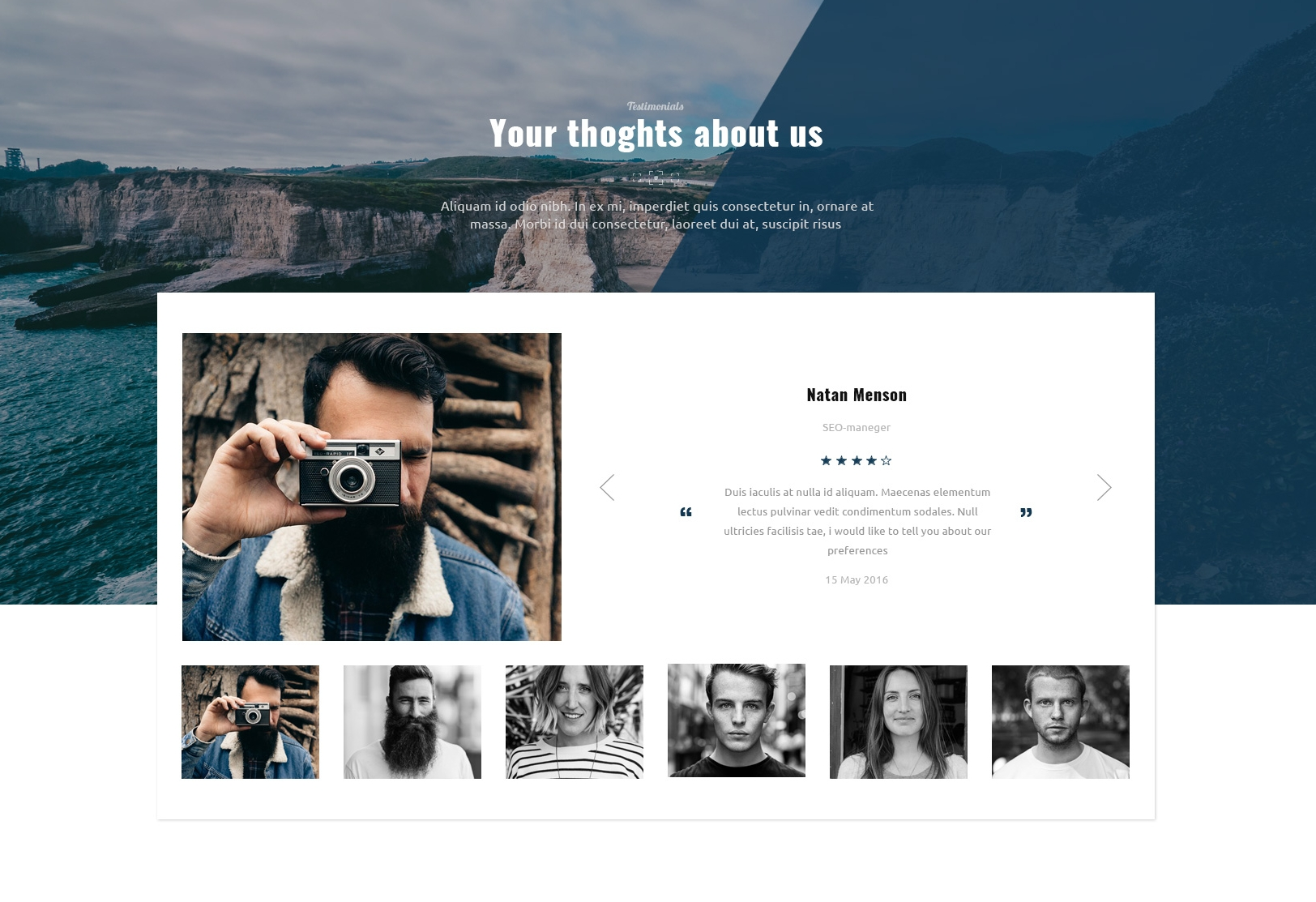 Responsive Bootstrap Basic Theme